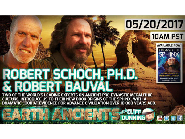 Robert Schoch, Ph.D. & Robert Bauval: Origins of the Sphinx