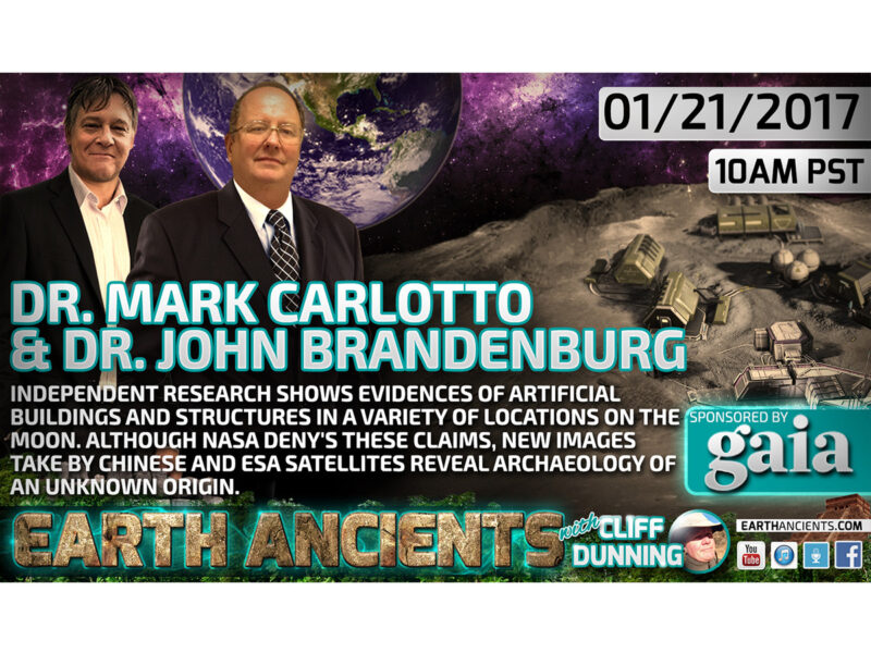 Mark Carlotto & John Brandenburg: Lunar Anomalies and Archaeology