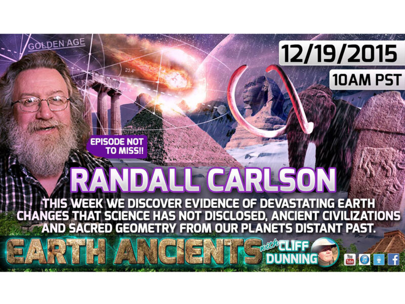 Randall Carlsen: Earth's Lost History & Cycles Of Catastrophe