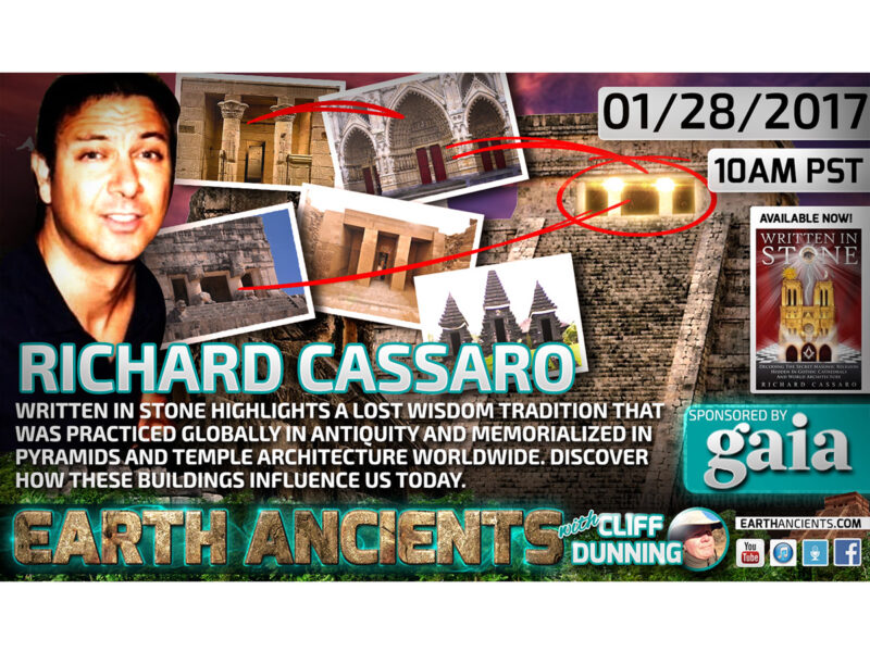 Richard Cassaro: Written in Stone, Lost Wisdom Traditions of the Ancient Past