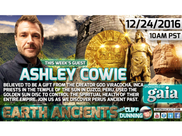 Ashley Cowie: Quest for the Inca Golden Sun Disk