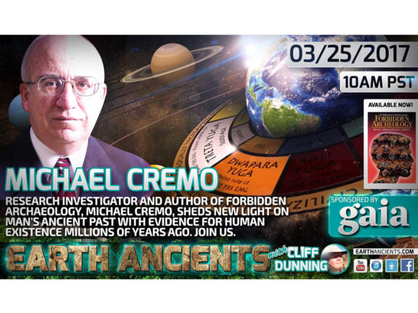 Michael Cremo: Our Forbidden History