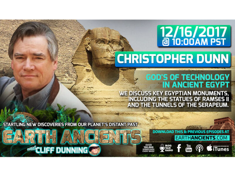 Christopher Dunn: God's of Technology in Ancient Egypt