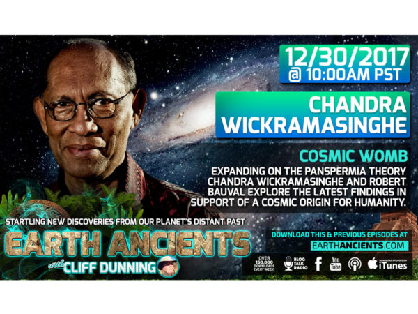 Chandra Wickramasinghe: Cosmic Womb, The Seeding of Planet Earth