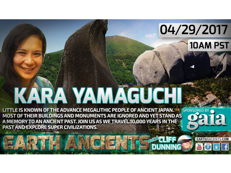 Kara Yamaguich: Super Megalithic Cultures of Ancient Japan