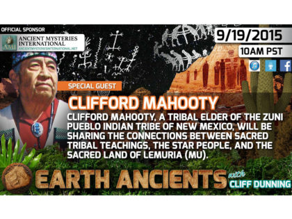Clifford Mahooty: The Zuni, Lemuria and Star People
