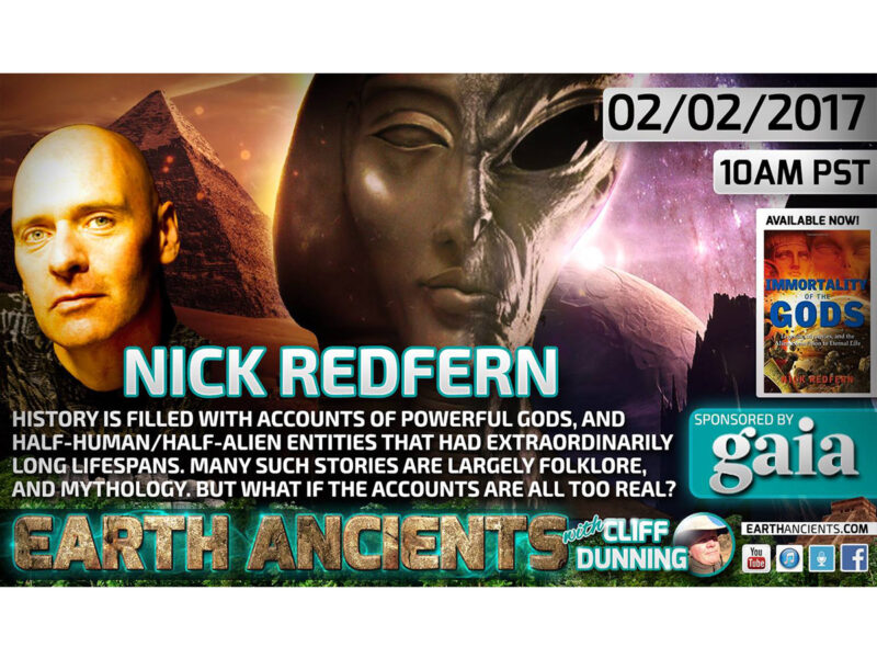 Nick Redfern: Immortality of the Gods
