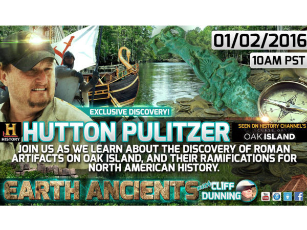 Hutton Pulitzer: Ancient Roman artifacts Discovered in North America