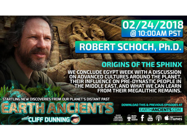 Robert Schoch, Ph.D.: Origins of the Sphinx Revisited