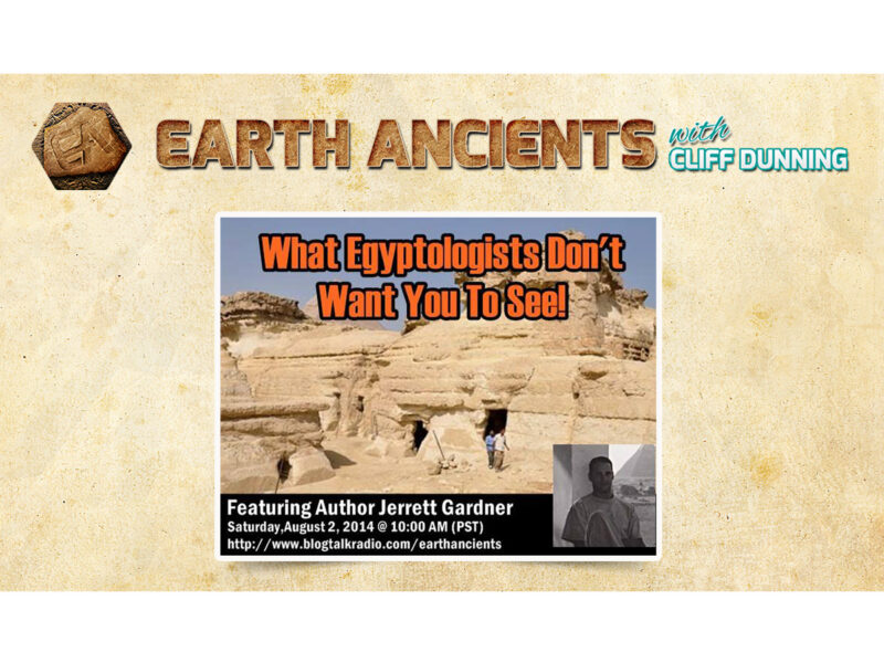 Jerret Gardner: What Egyptologists don't want you to see