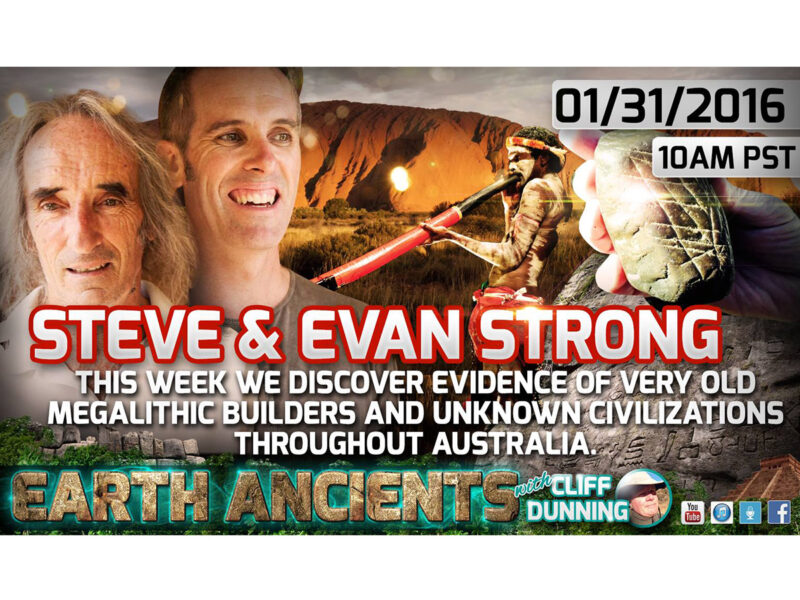 Steven & Evan Strong: Uncovering Ancient Australia