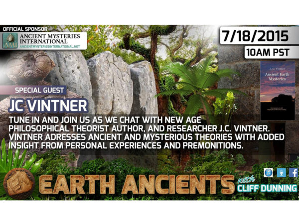 JC Vintner: Ancient Earth Mysteries