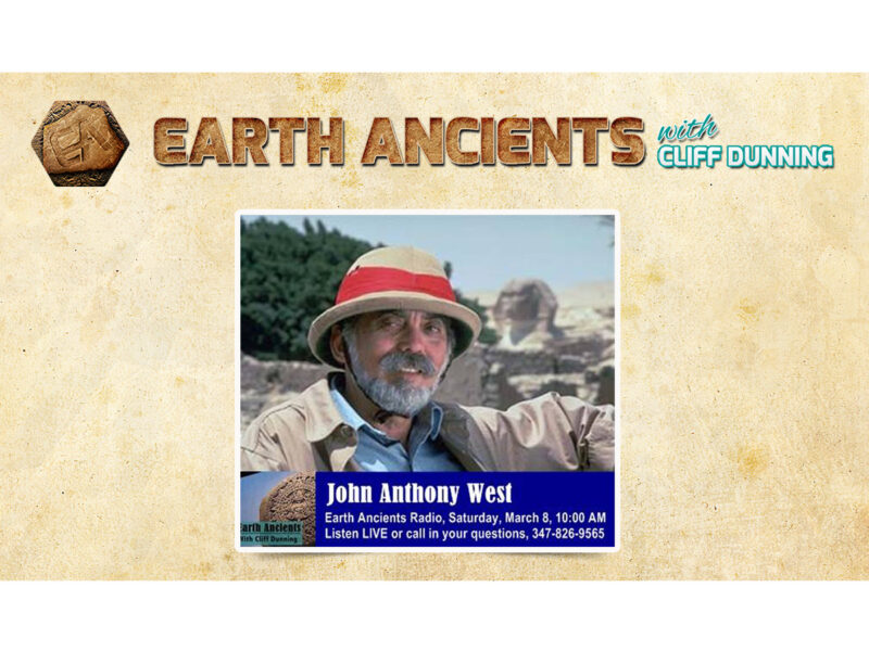 John Anthony West: Pre-Dynastic Egypt and the Sphinx