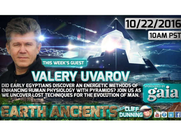 Valery Uvarov: Lost Secrets of the Pyramids