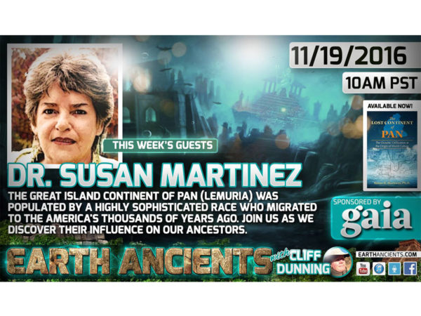 Dr. Susan Martinez: The Lost World of Lemuria (Pan)