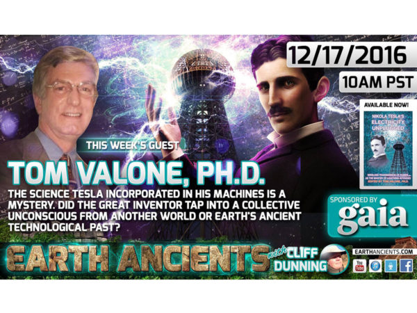 Dr. Tom Valone: Nicola Telsa: Science of the Gods