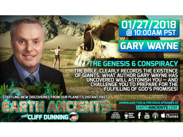 Gary Wayne: The Genesis 6 Conspiracy