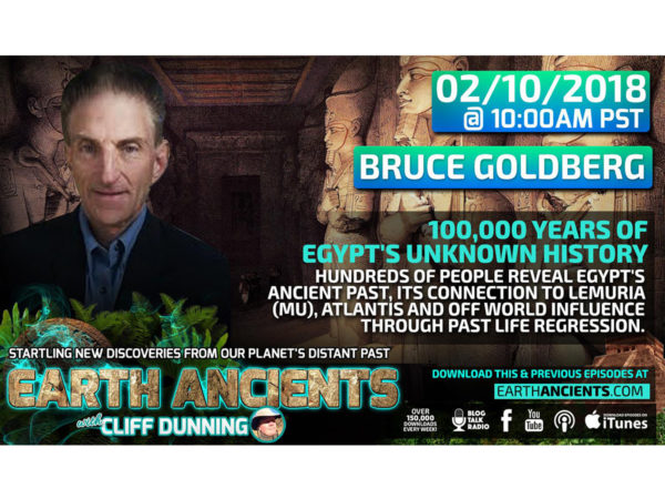 Bruce Goldberg: 100,000 Years of Egypt's Unknown History