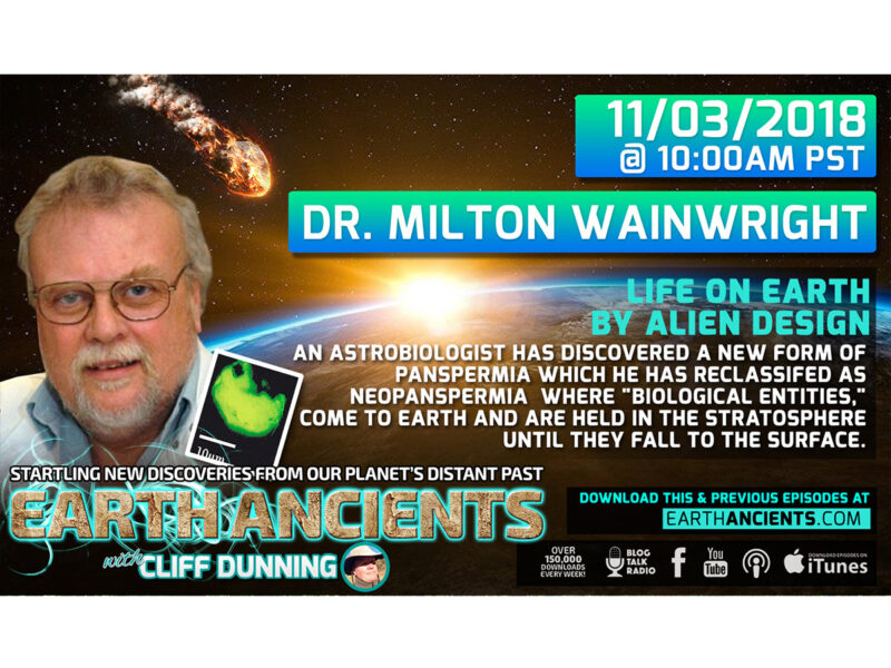 Dr. Milton Wainwright: Life on Earth by Alien Design