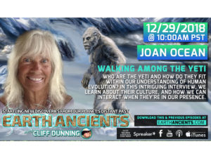 JOAN OCEAN: WALKING AMONG THE YETI