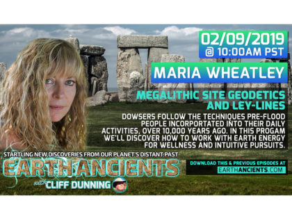 Maria Wheatley: Dowsing Megalithic Sites in the UK