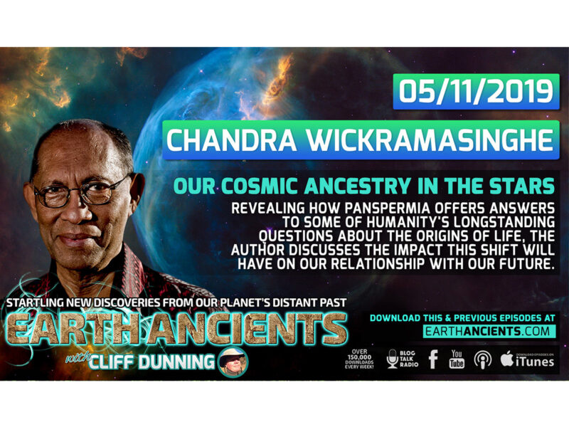 Chandra Wickramasinghe: Our Cosmic Ancestry in the Stars