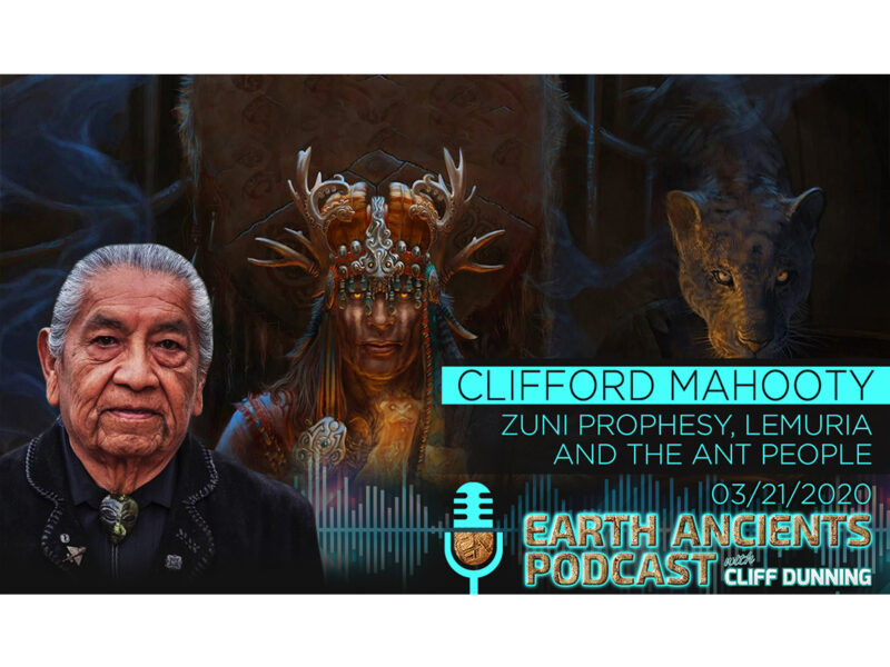 Clifford Mahooty: Zuni Prophecy, Lemuria and the Ant People